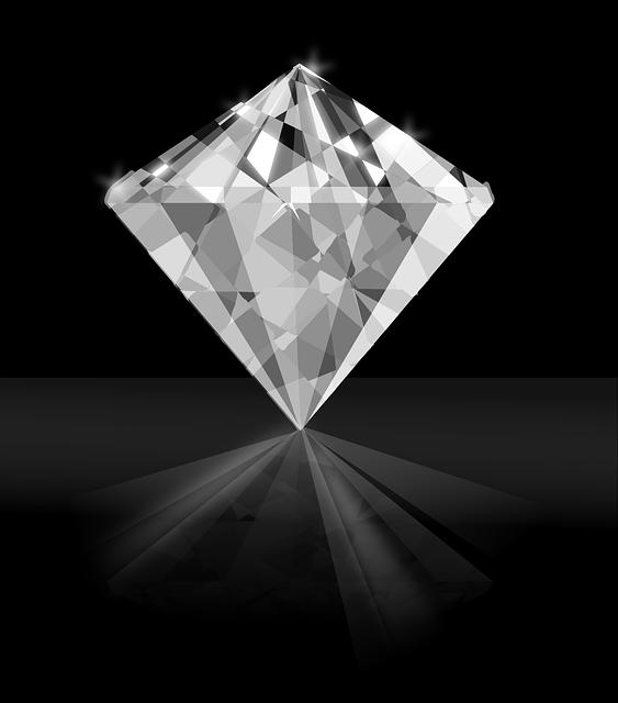 Diamond, Gem, Jewel, Shiny, Fashion, Glass, Luxury