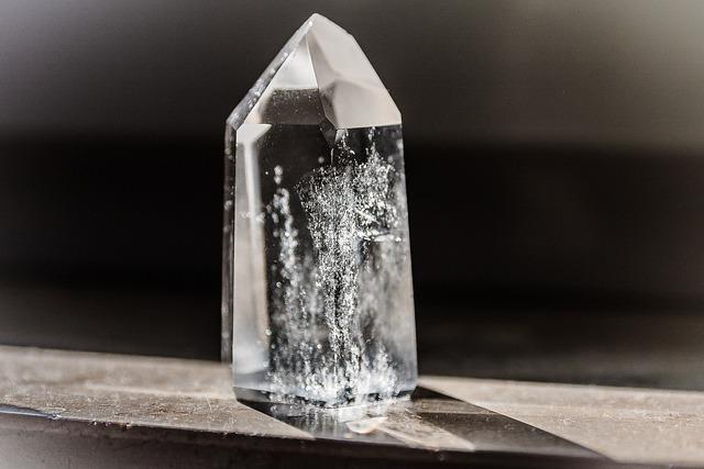 Crystal, Rock Crystal, Mineral, Healing Stone, Gem