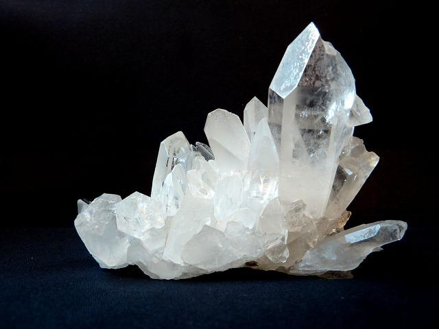 Rock Crystal, Clear To White, Gem Top