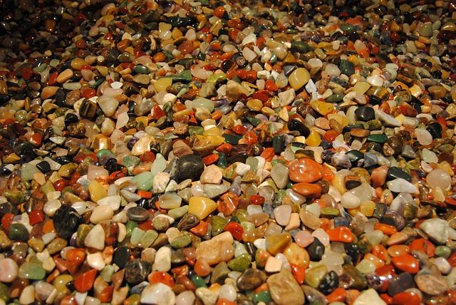 Gems, Many, Colorful