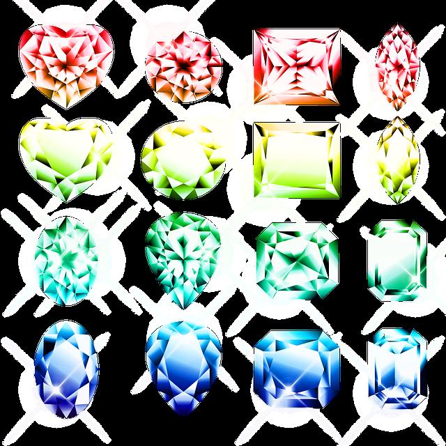 Gems, Jewels, Gemstones, Diamond, Brilliant, Gemstone