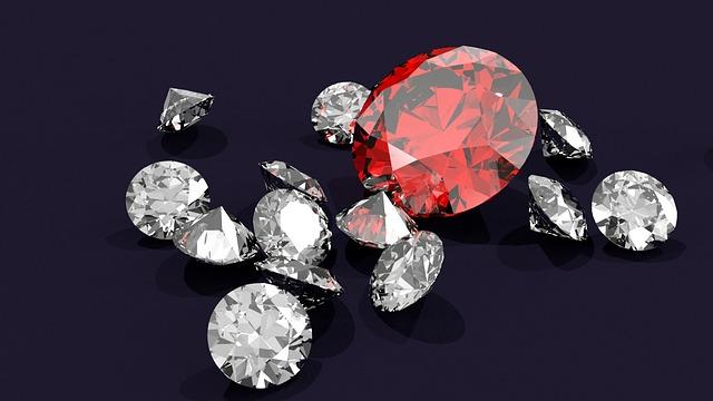 Diamond, Diamonds, Gem, Gemstone, Ruby, Crystal