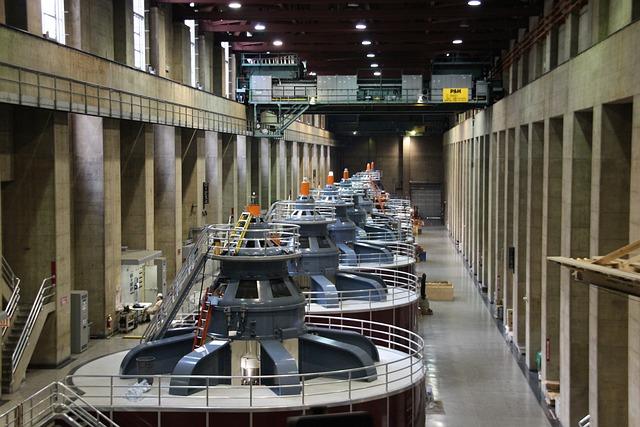 Power Plant, Hoover Dam, Generator