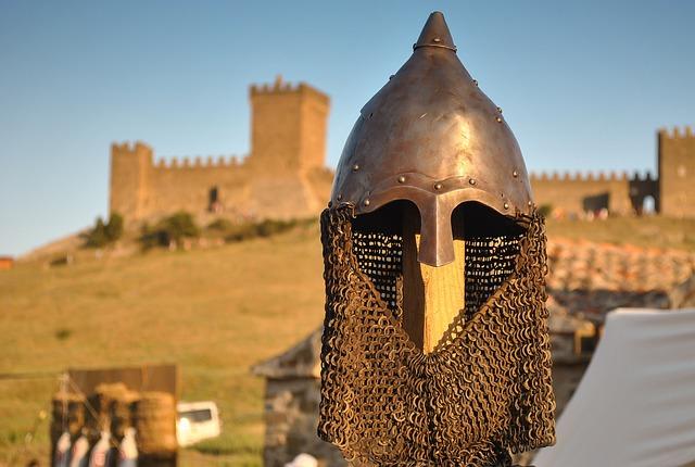 Knight's Helmet, Sudak And Novy Svet, Genoese Fortress