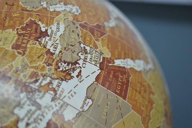Globe, Map, Countries, Earth, Global, Geography
