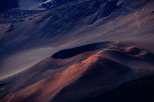 Geology, Haleakala, Landscape, Mountain, Nature