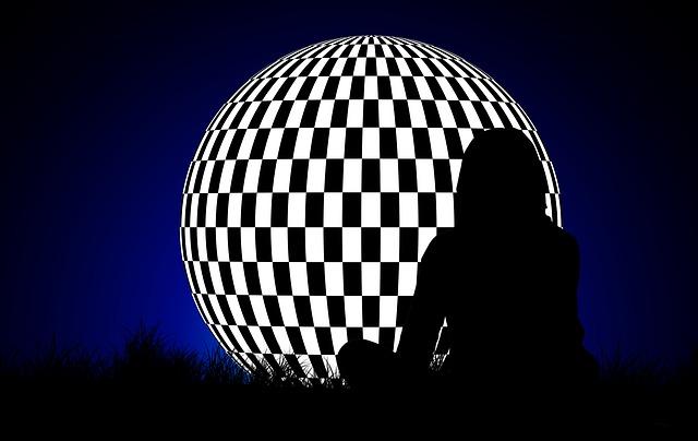 Ball, Geometry, Geometric, Woman, Silhouette