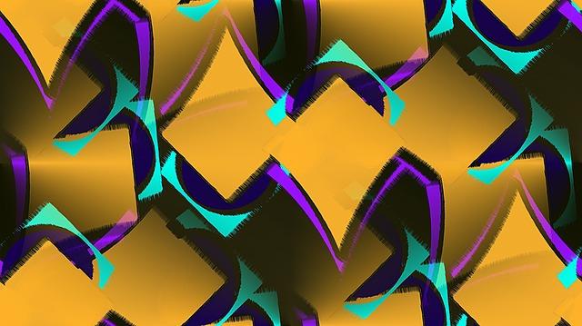 Geometric, Gradient, Psychedelic