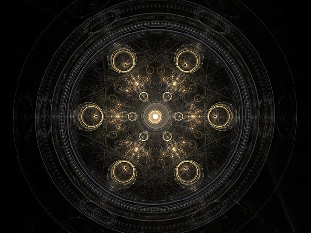 Symmetry, Fractal, Backdrop, Geometry