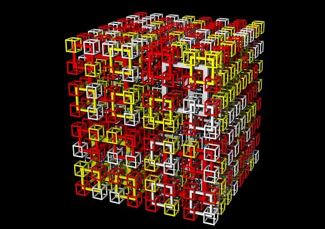 Cubes, Maths, 3d, Mathematics, Formula, Geometry