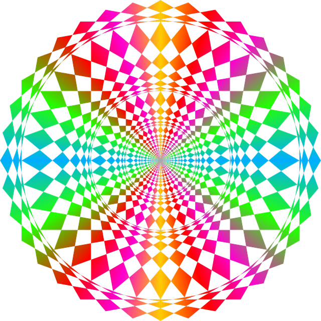 Default, Geometric, Circles, Symmetry, Vector, Geometry