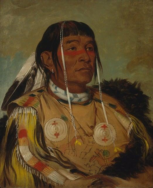 Painting, Art, Artwork, George Catlin, 1831, Sha-co-pay