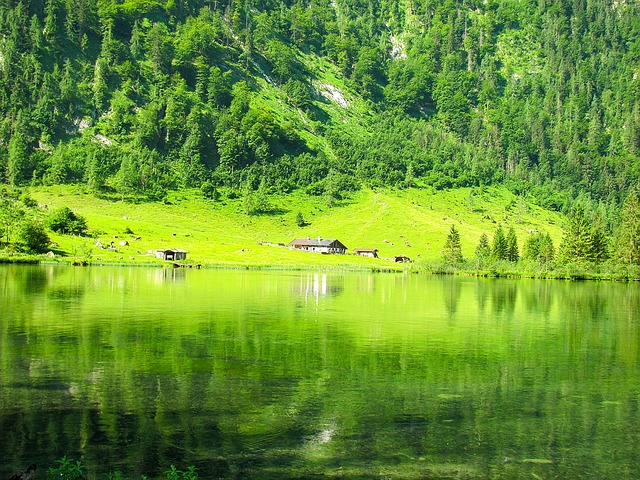 Konigsee, Berchtesgaden, Alps, Germany, Bavaria
