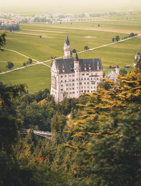 Fairy Castle, Castle, Architecture, Germany, Schwangau