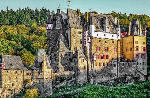 Burg Eltz, Sachsen, Places Of Interest, Germany
