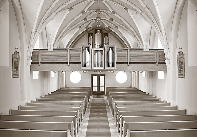Church, Altar, Building, Germany, Architecture