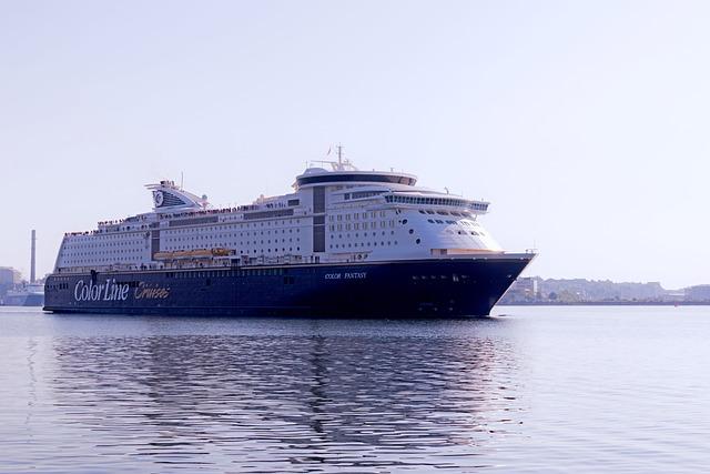 Colorline, Color Fantasy, Cruise Ship, Germany, Cruise