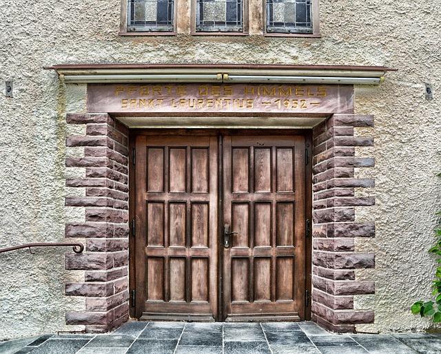 Schieder-schwalenberg, Germany, Church, Building, Door