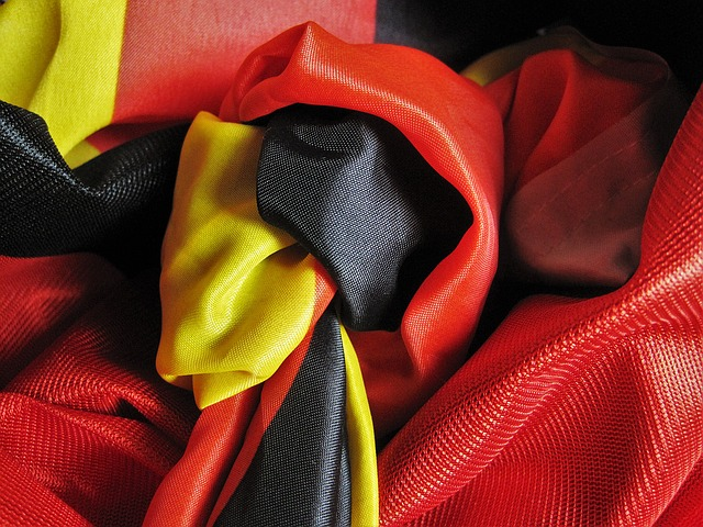 Knot, Toi Toi Toi, Football, Germany, Flag