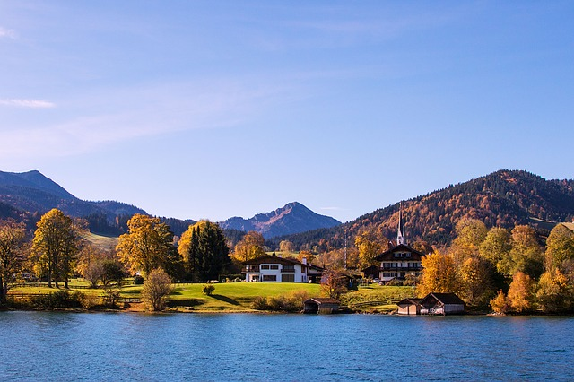 Bavaria, Tegernsee, Autumn, Golden October, Germany