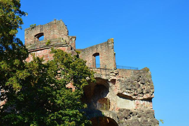 Heidelberg, Castle, Heidelberger Schloss, Germany