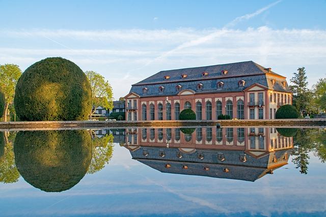 Darmstadt, Hesse, Germany, Orangery, Garden, Castle