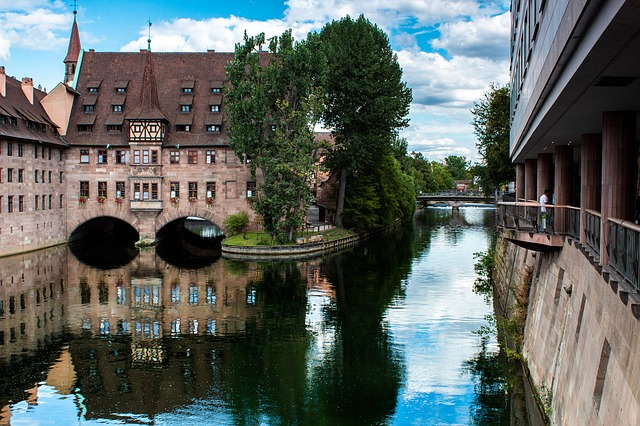 Building, Water, Landscape, The Old Town, Germany
