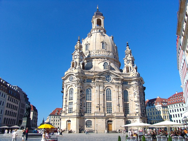 Dresden, Frauenkirche, Germany, Old Town, Church
