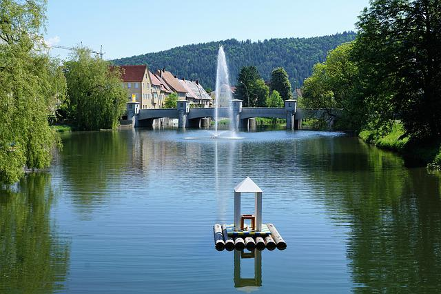 Tuttlingen, Germany, Europe, Danube, River, Current