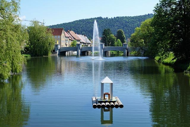 Tuttlingen, Germany, Europe, Danube, River, Current