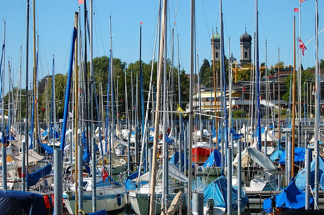 Lake Constance, Constance, Port, Sailing Boats, Germany