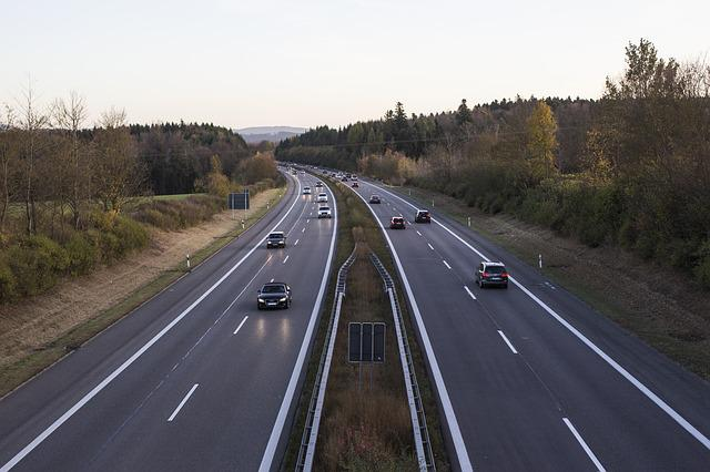 Highway, Traffic, Germany, Streets, Vehicles, Autos
