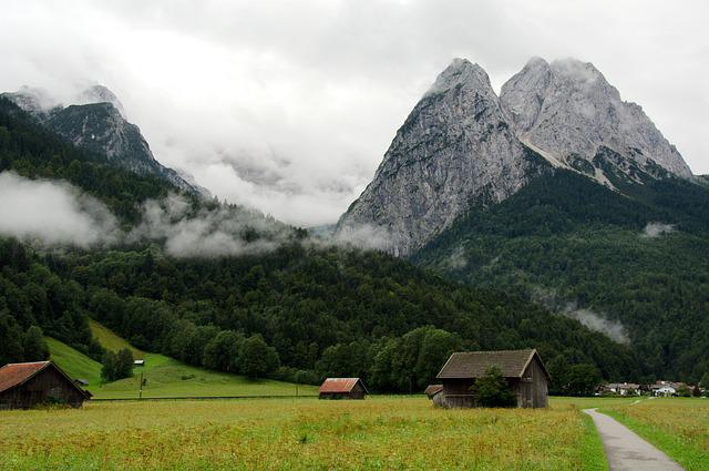 Zugspitze, Hiking, Mountains, Alps, Germany