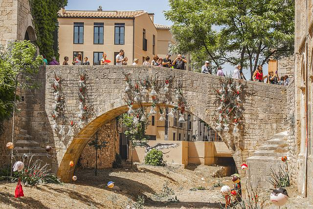 Gerona, Time Of Flowers, Flowers, Arc, Colorful