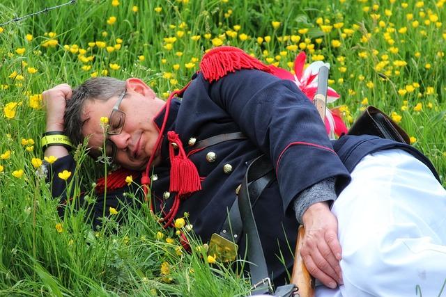 Belgium, Gerpinnes, Holy Rolende, Napoleon, Folklore