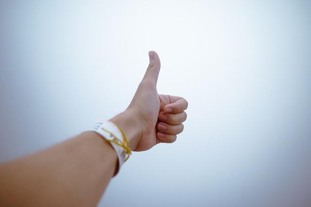 Fingers, Gesture, Hand, Thumbs Up