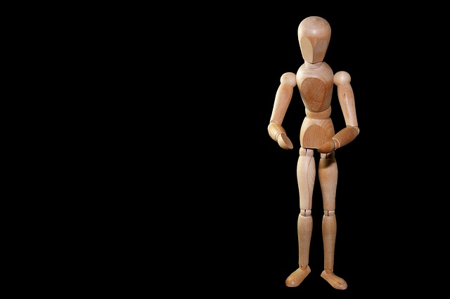 Figure, Man, Stand, Gestures, Offer, Doll, Holzfigur