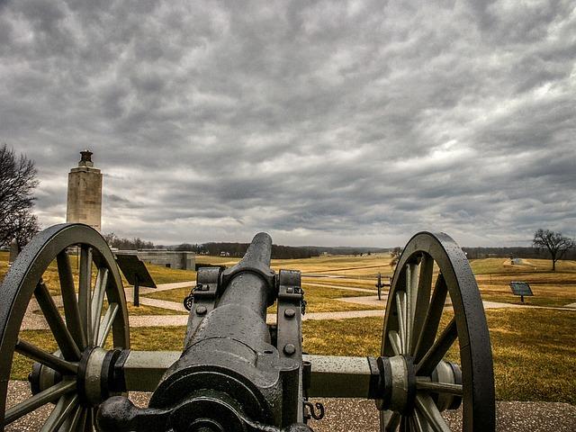 Gettysburg, Pennsylvania, Battlefield, Cannon