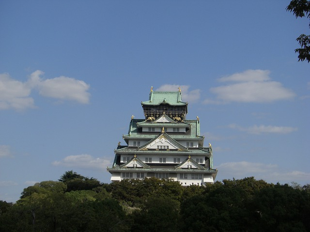 Osaka Castle, The Castle Tower, Kinjo, Geumseong