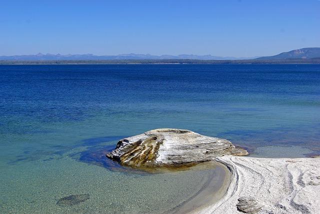 Fishing Cone, Thermal, Pool, Geyser, Yellowstone