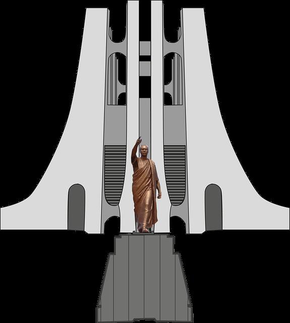 Kwame Nkrumah, Mausoleum, Accra, Ghana, Africa