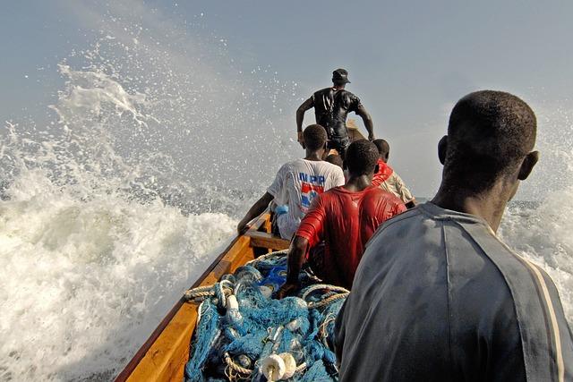 Ghana, Fischer, Water