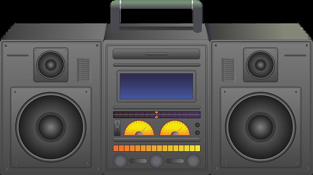 Boombox, Ghetto Blaster, Radio, Blaster, Stereo, Ghetto
