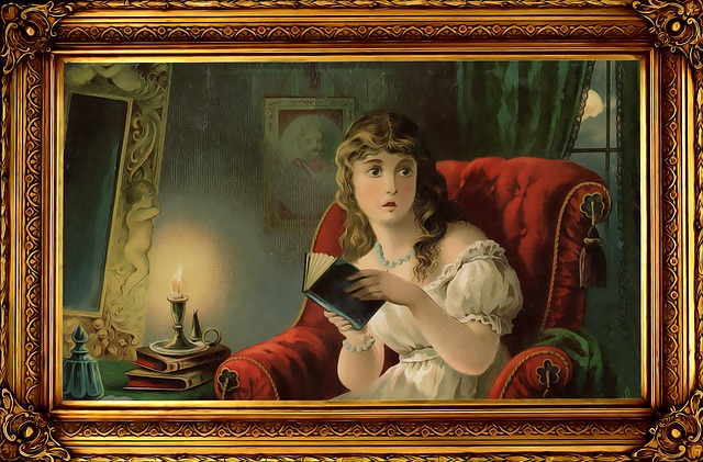 Gothic, Vintage, Female, Ghost Stories, Mystery