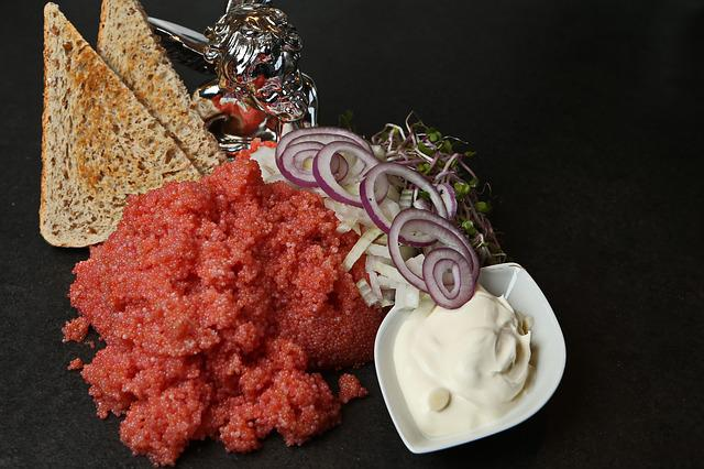 Lumpfish Roe, Giblets, Eggs, Fish, Delicacy, Toast
