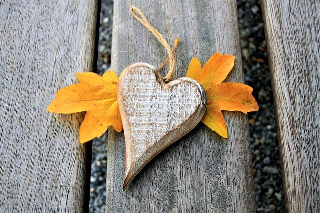 Para, Bench, Heart, Autumn, October, Gift, Www, Total