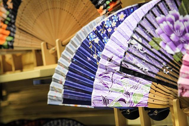China, Fan, Pattern, China Wind, Craft Product, Gift