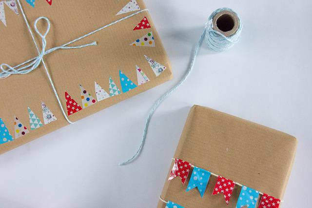Gift, Twine, Packaging, The Tape, Decorating, Birthday