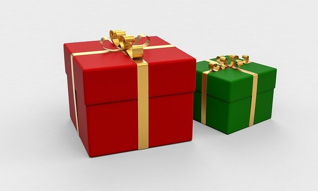 Presents, Boxes, Gifts, Packages, Wrapping Paper