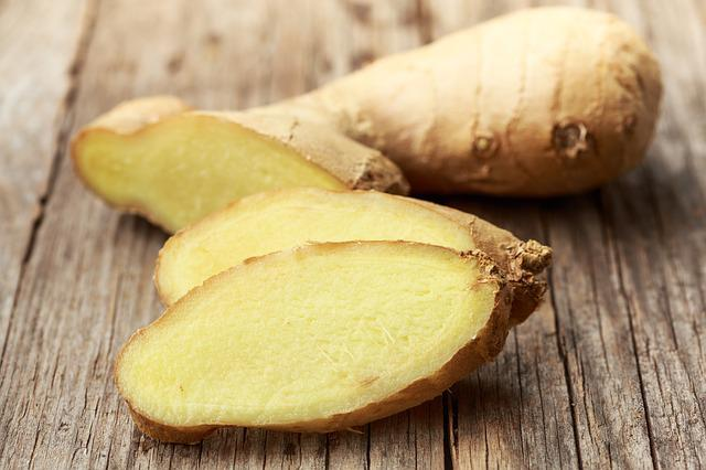 Ginger, Root, Spice, Ingredient, Healthy, Fresh, Raw